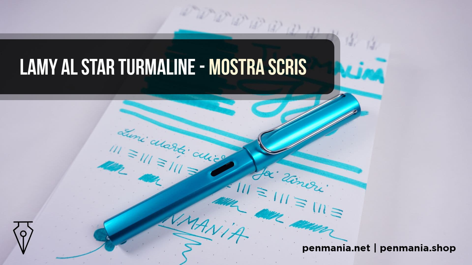 Coperta Video Mostra Scris Culoare Lamy Al Star Turmalina Penmania Shop