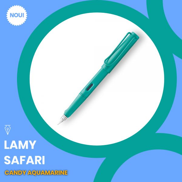 Stilou Lamy Safari Candy Aquamarine Penmania Shop