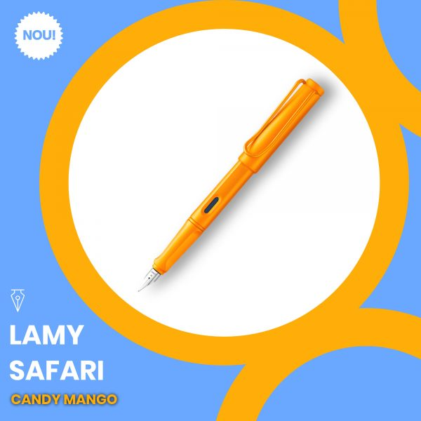 Stilou Lamy Safari Candy Mango Penmania Shop