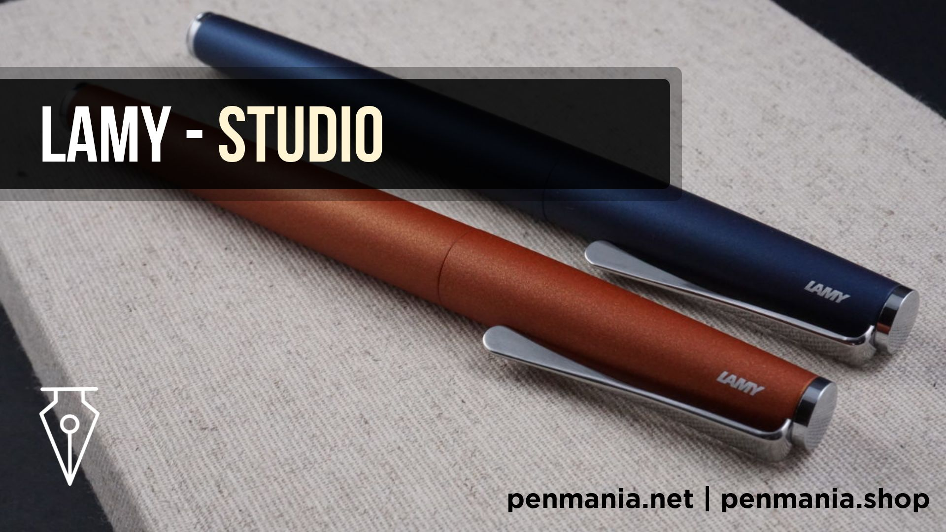Stilou Lamy Studio Cover Youtube Recenzie Penmania