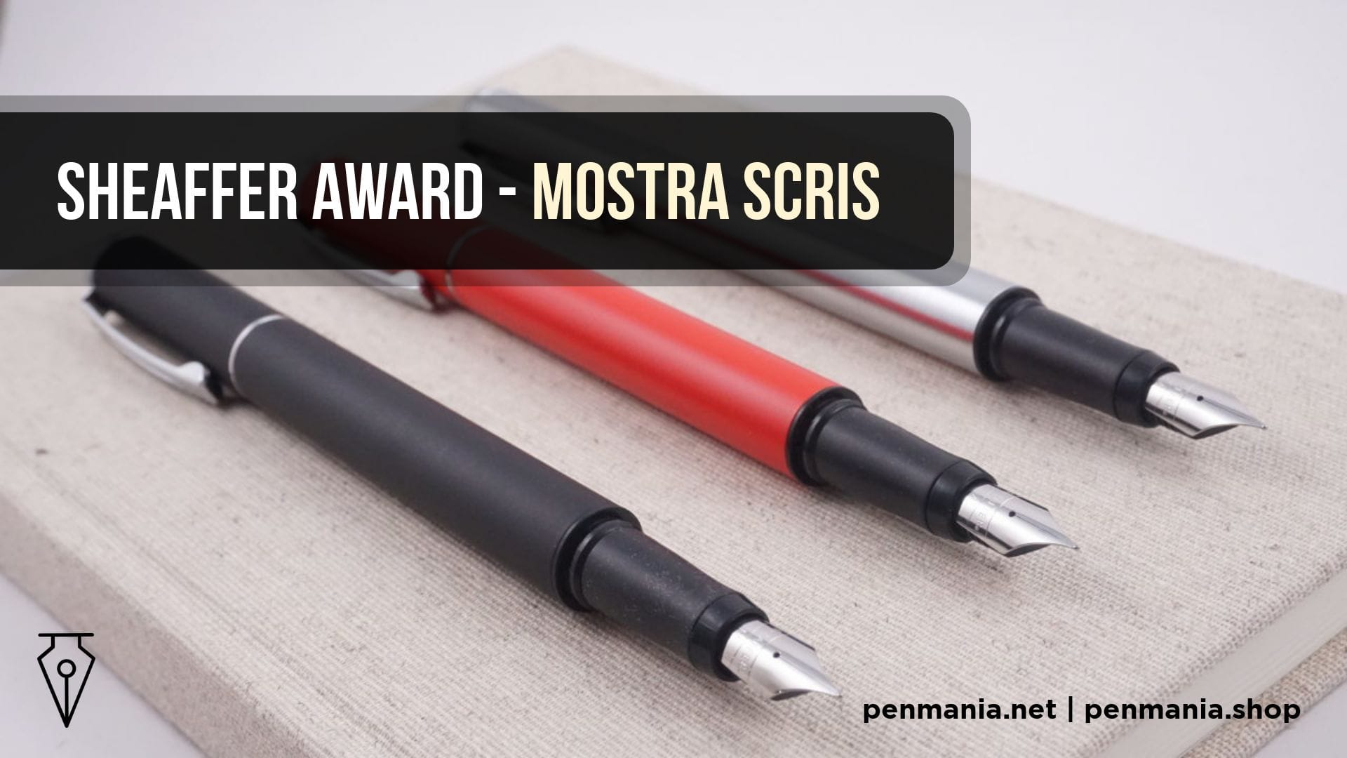 Coperta Video Stilou Sheaffer Award Mostra Scris Video Penmania Shop