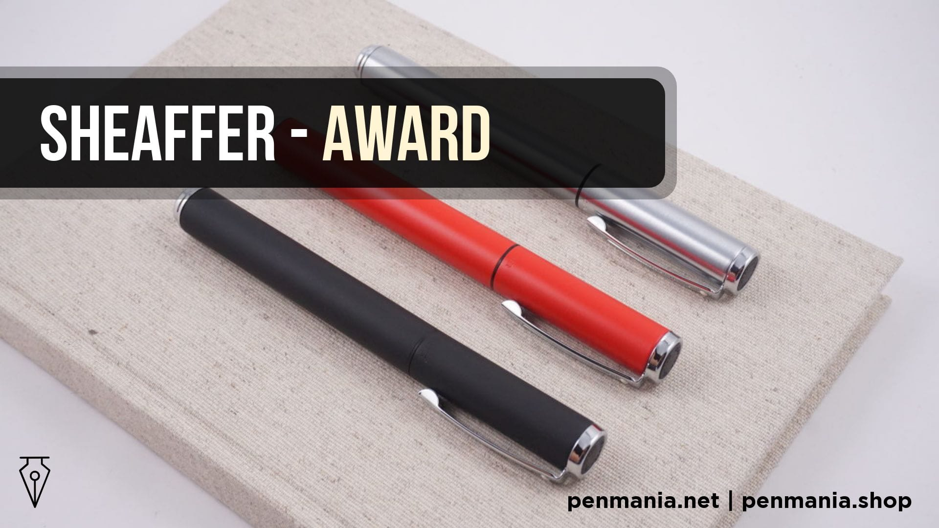 Coperta Video Stilou Sheaffer Award Recenzie Video Penmania Shop