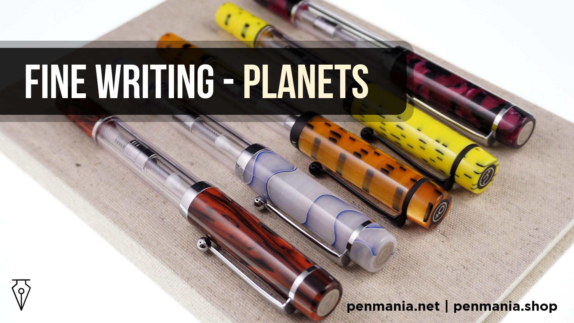 Coperta Video Recenzie Stilou Fine Writing Planets Penmania Shop