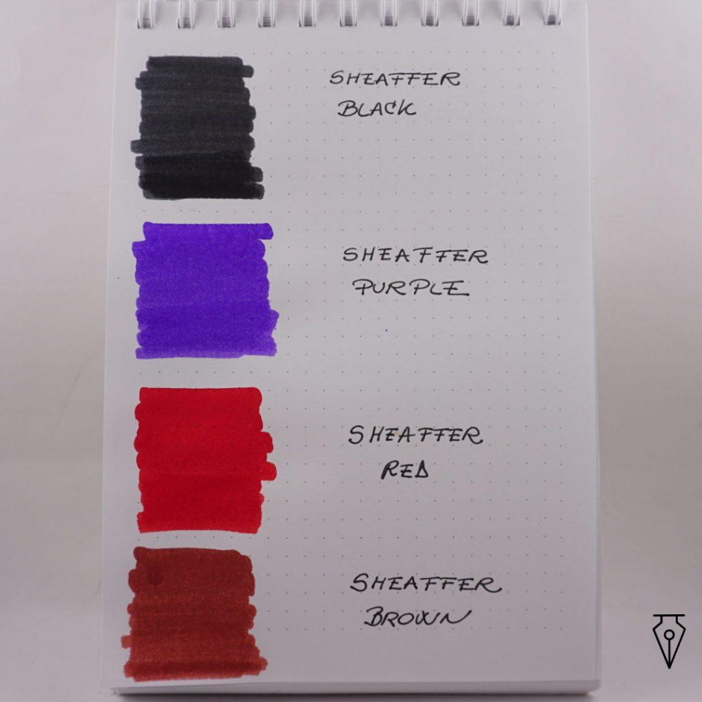Cerneala Sheaffer Mostra Culoare Penmania Shop 1