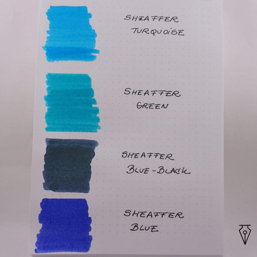 Cerneala Sheaffer Mostra Culoare Penmania Shop 2
