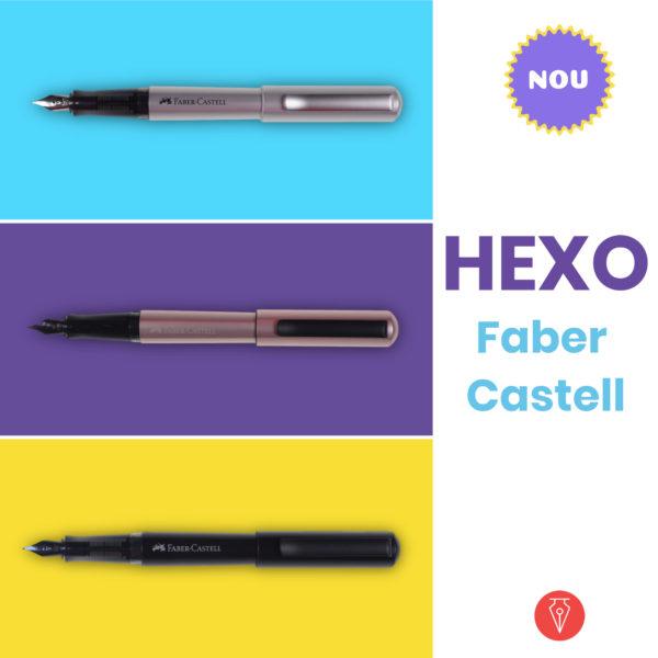 Stilou Hexo Faber Castell Produs Penmania Shop