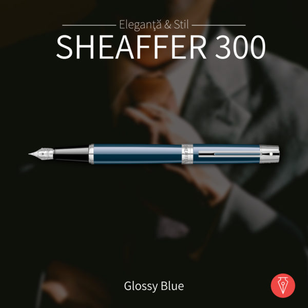 Stilou Sheaffer 300 Glossy Blue Penmania Shop