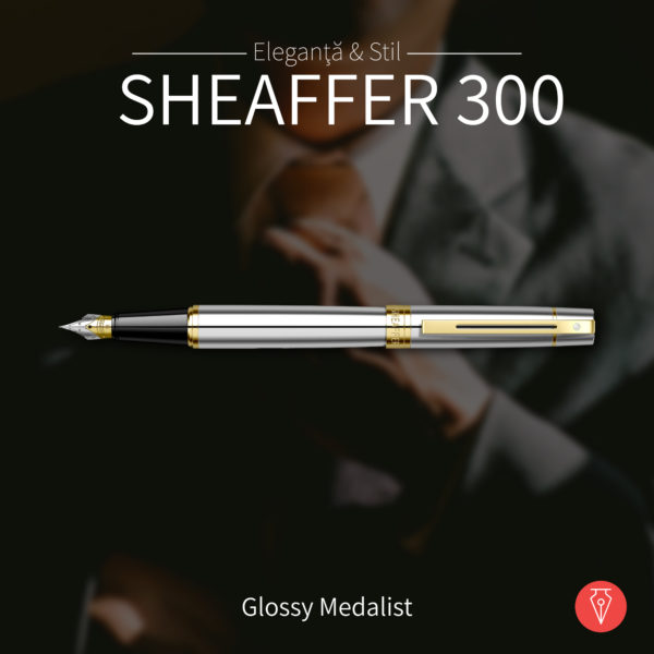 Stilou Sheaffer 300 Glossy Medalist Penmania Shop