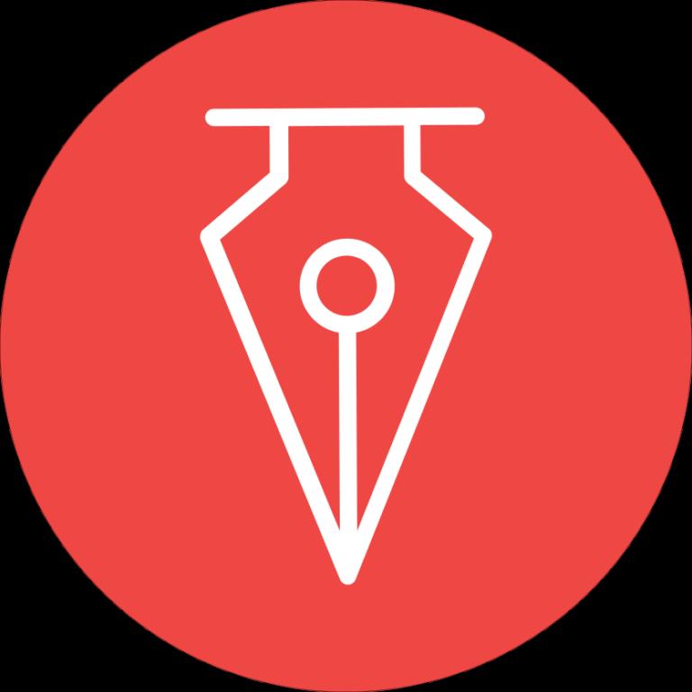 Logo Penmania Shop Cerc Rosu