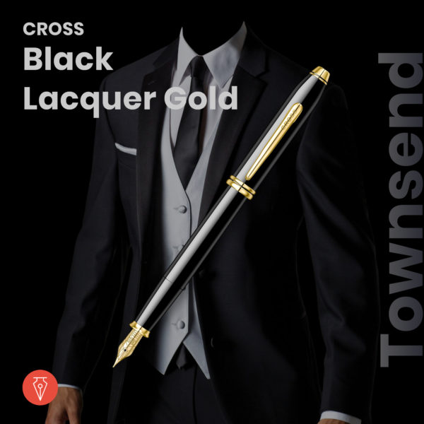 Stilou Cross Townsend Black Lacquer Penmania Shop