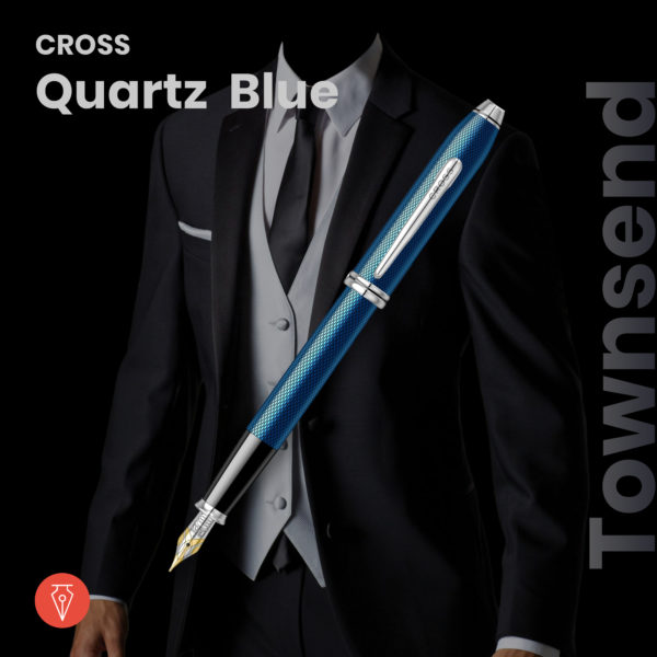 Stilou Cross Townsend Quartz Blue Penmania Shop