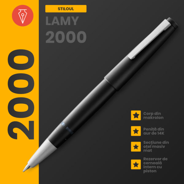 Stilou Lamy 2000 Penmania Shop 1