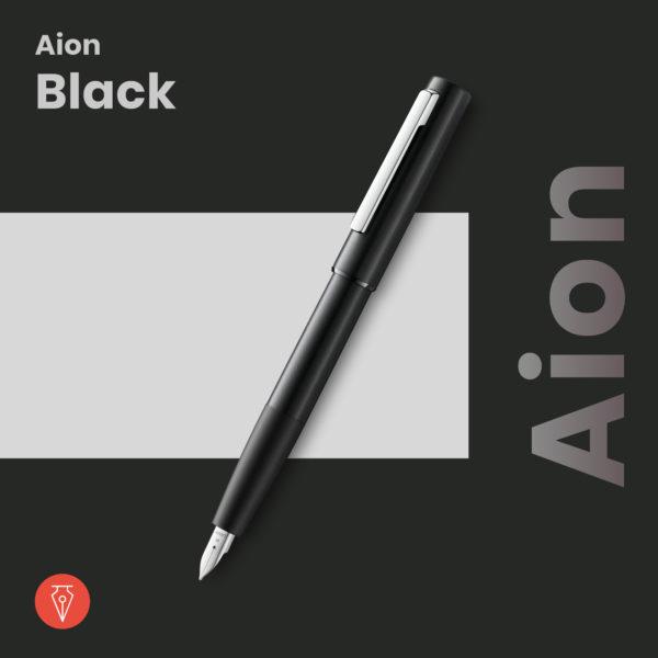 Stilou Lamy Aion Black Penmania Shop