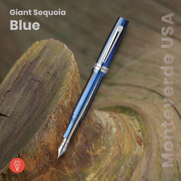 Stilou Monteverde Usa Giant Sequoia Blue Penmania Shop