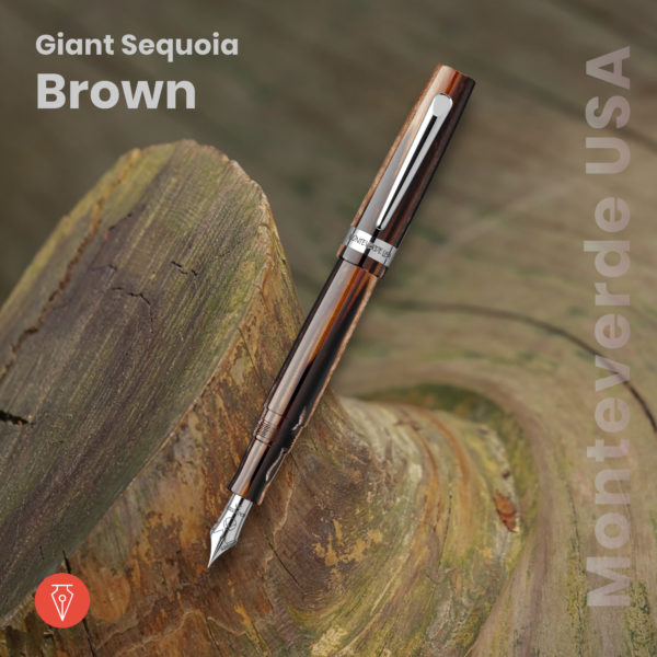 Stilou Monteverde Usa Giant Sequoia Brown Penmania Shop