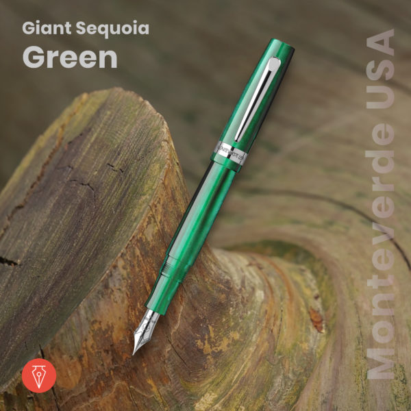 Stilou Monteverde Usa Giant Sequoia Green Penmania Shop