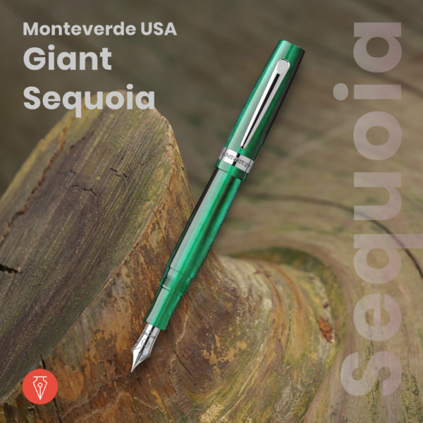 Stilou Monteverde Usa Giant Sequoia Imagine Produs Penmania Shop