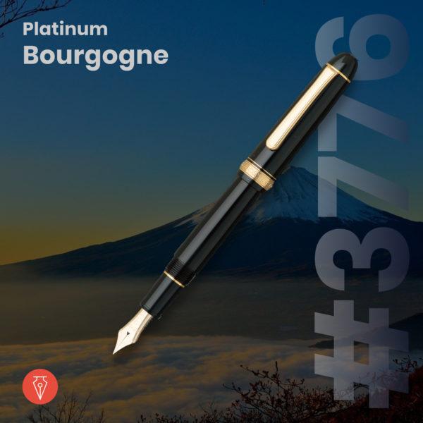 Stilou Platinum 3776 Bourgogne Penmania Shop
