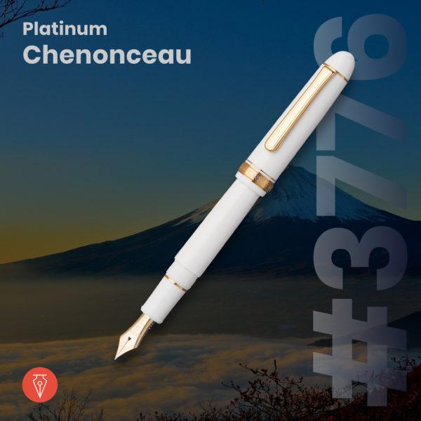 Stilou Platinum 3776 Chenonceau Penmania Shop
