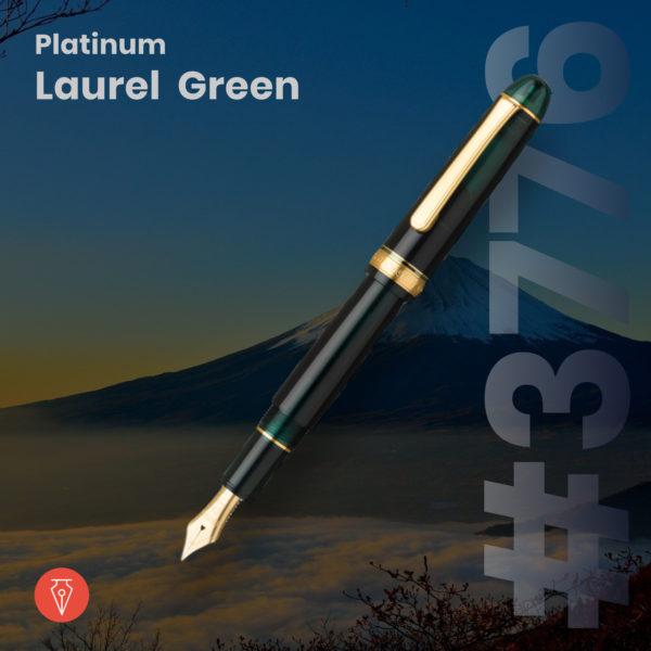 Stilou Platinum 3776 Laurel Green Penmania Shop