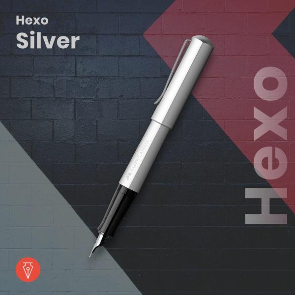 Stilou Faber Castell Hexo Silver Penmania Shop