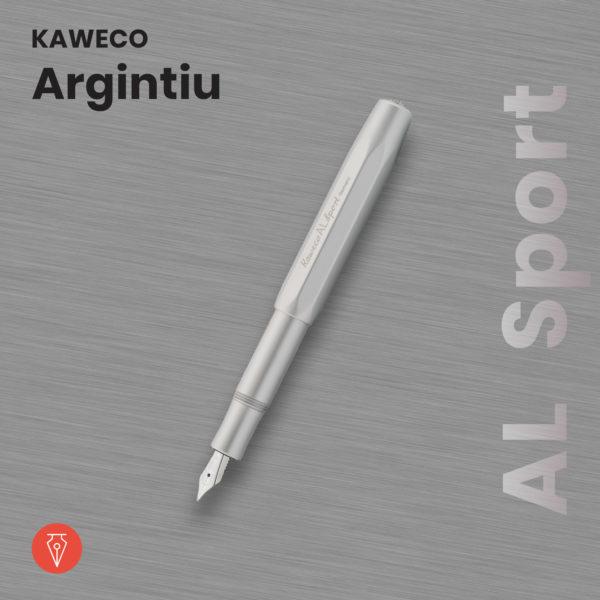 Stilou Kaweco Al Sport Argintiu Penmania Shop