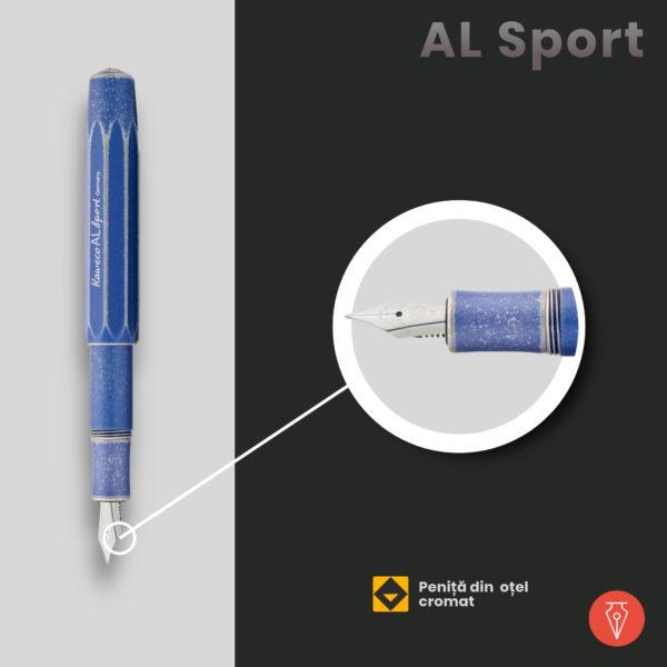 Stilou Kaweco Al Sport Detaliu 1 Penmania Shop