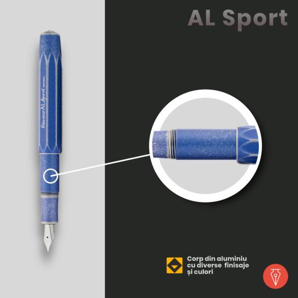 Stilou Kaweco Al Sport Detaliu 2 Penmania Shop