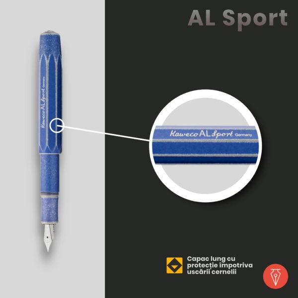 Stilou Kaweco Al Sport Detaliu 3 Penmania Shop