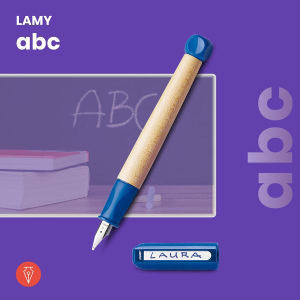 Stilou Lamy Abc Albastru Penmania Shop