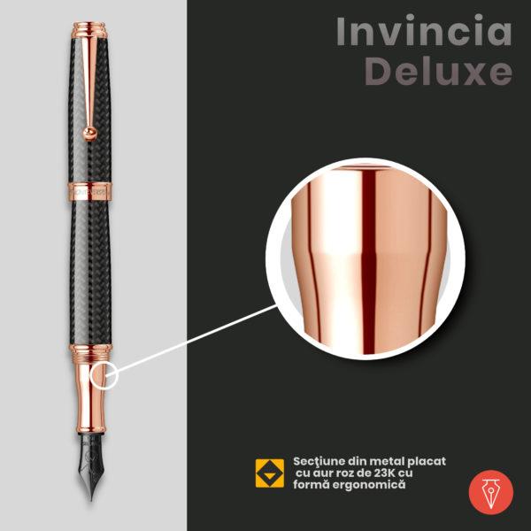 Stilou Monteverde Invincia Deluxe Penmania Shop Detaliu2