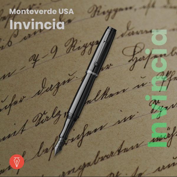 Stilou Monteverde Invincia Imagine Produs Standard Penmania Shop