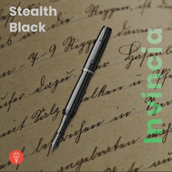 Stilou Monteverde Invincia Stealth Black Penmania Shop