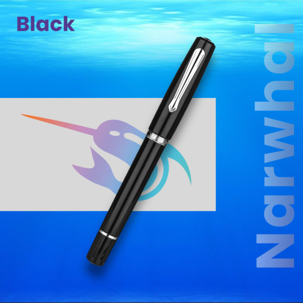 Stilou Narwhal Black Penmania Shop