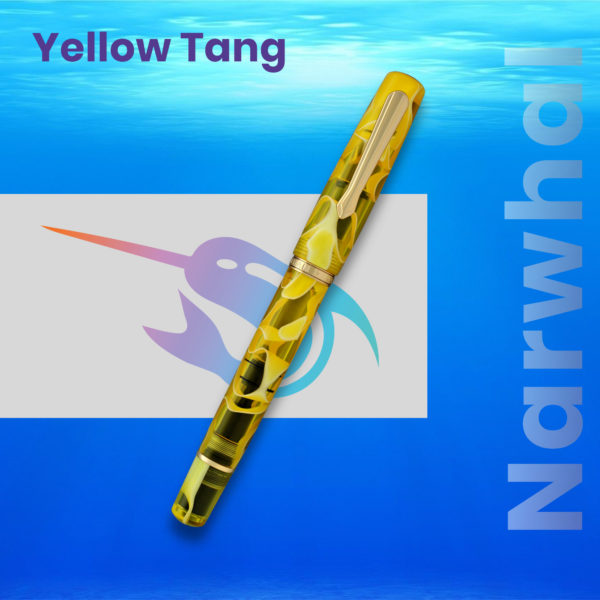 Stilou Narwhal Yellow Tang Penmania Shop