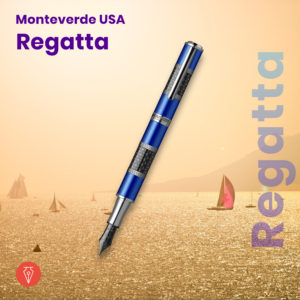 Stilou Monteverde Regatta Imagine Produs Penmania Shop