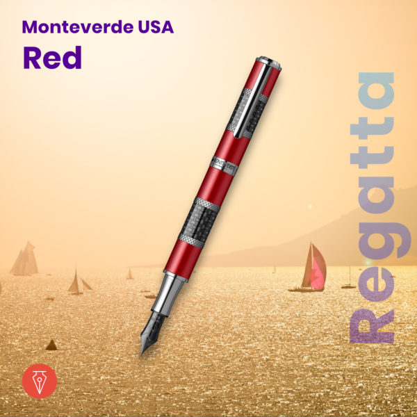 Stilou Monteverde Regatta Sport Red Penmania Shop