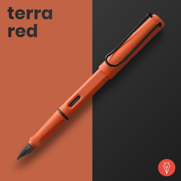 Stilou Lamy Safari Terra Red 2021 Penmania Shop
