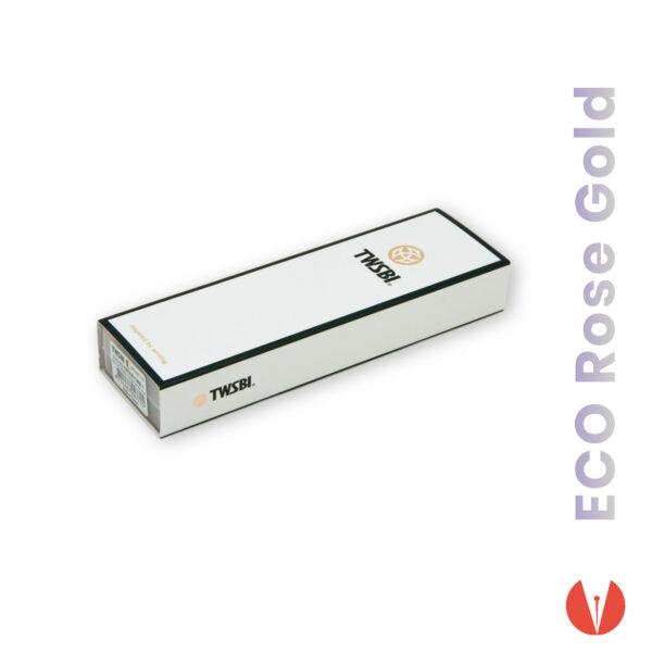 stilou twsbi eco white rose gold produs 4 penmania shop