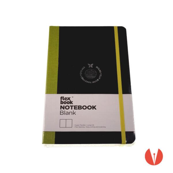 notebook flexbook standard a5 lightgreen up pemaniashop