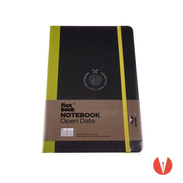 notebook flexbook opendate planner penmania shop light green up